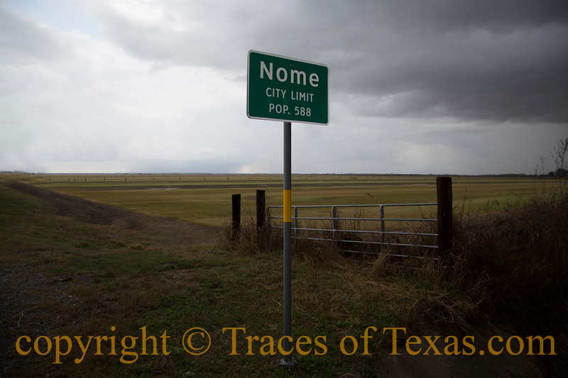 Title: Nome City Limits<br /> <br /> Comments: Hey, Alaska ... up yours! We've got our own Nome right here in Texas.<br /> <br /> Location: Nome