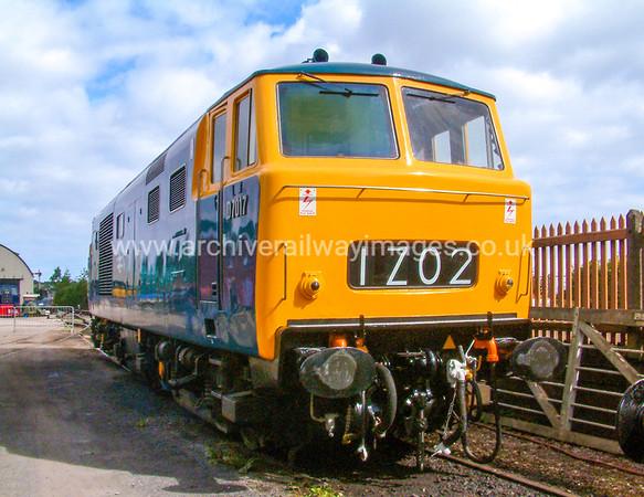 Class 35 Diesel Hydraulic Locomotives