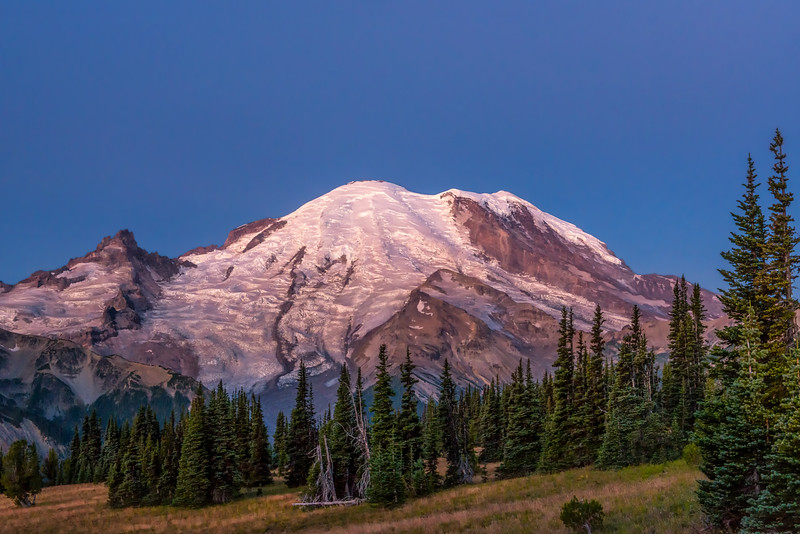 Mt. Rainier at Sunrise