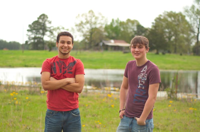 Devon and Stephen