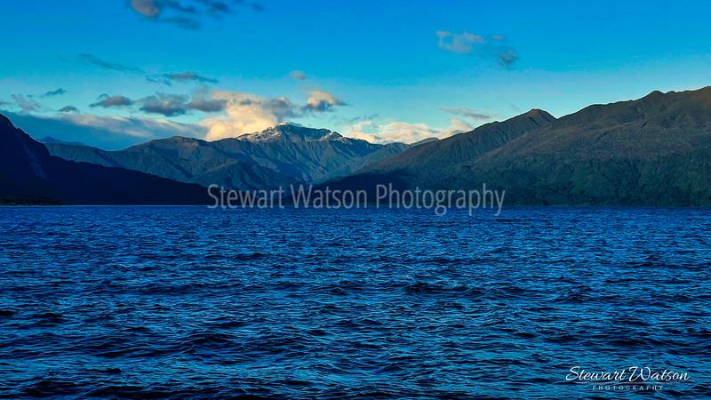 Lake Brunner rough water