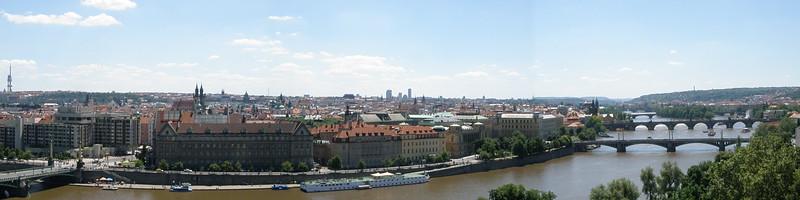 Prague to Budapest 2010