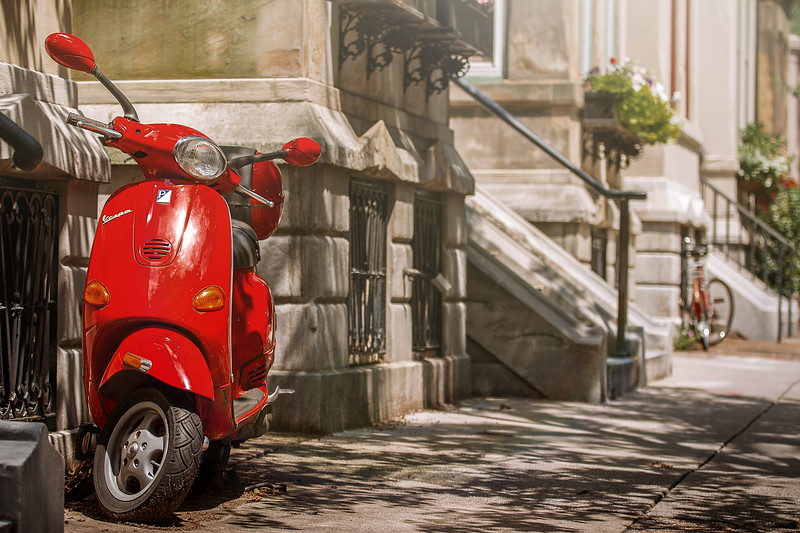 Red Vespa in Philly-.jpg
