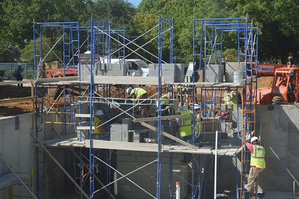 Campus Construction.October 2016