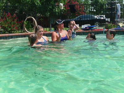 Swim lesson pics