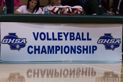Volleyball November 1, 2014 State Championship