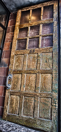 Asheville door 63