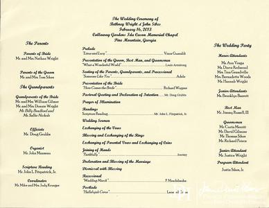 2013 02 16 Wedding Ceremony