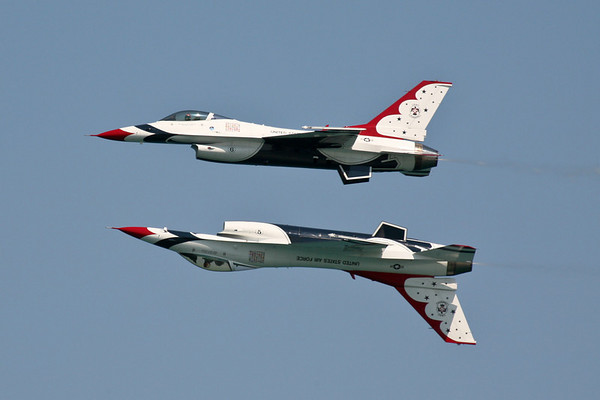 USAF Thunderbirds Chicago Air Show 2007