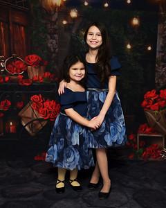 Lily Ann & Sophia Valentine's Day 2021