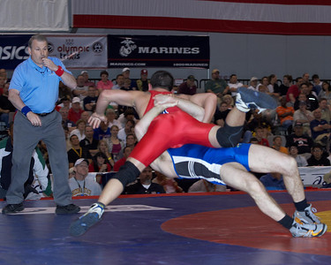 Greco-Roman Championships 60 Kg: Jim Gruenwald (Sunkist Kids) def Joe Betterman (New York Athletic Cl) Dec 5-0,6-3