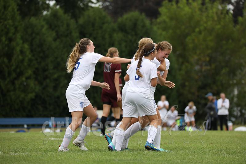Girls soccer/Pine Island