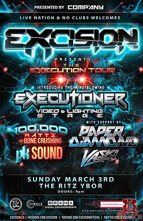 Excision The Execution Tour March 3, 2013