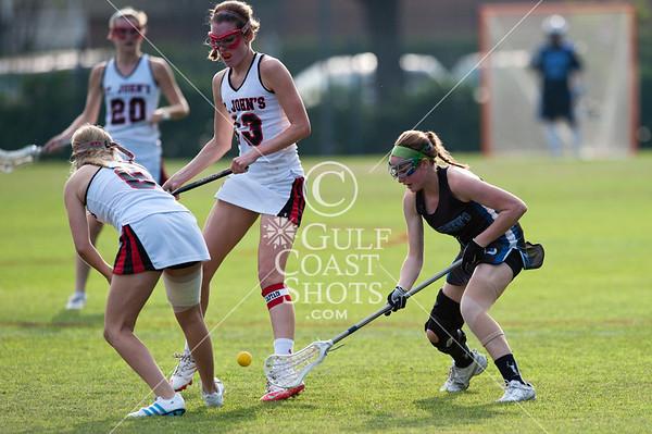 2011-03-25 Lacrosse Varsity Girls St. Andrew's @ St. John's