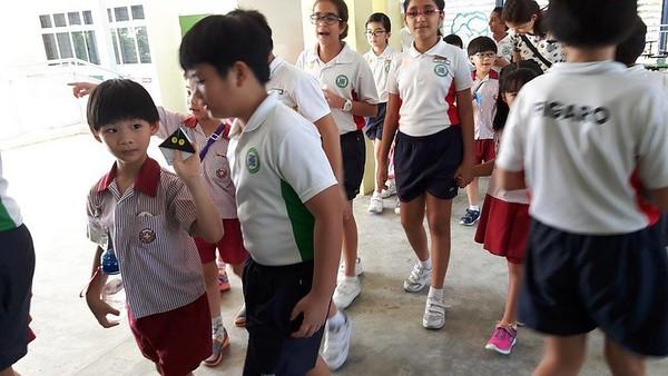 K2 children at Opera Estate Primary School