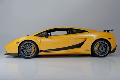 2008 Yellow Lamborghini Superleggera Twin Turbo