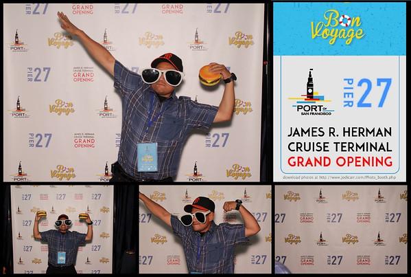 James R. Herman Cruise Terminal Grand Opening September 25, 2014