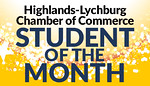 Highlands-Lynchburg Student of the Month