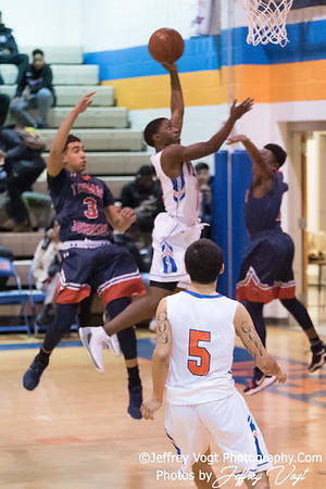 12/13/2017 Watkins Mill HS vs Thomas Johnson HS Boys Varsity Basketball, Photos by Jeffrey Vogt Photography