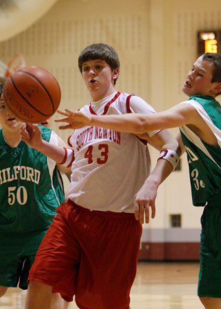 SNMS Boys Basketball 7 vs Milford 2010