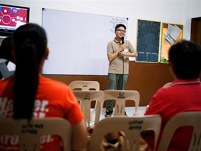 Aguhon Teachers' Training 2014