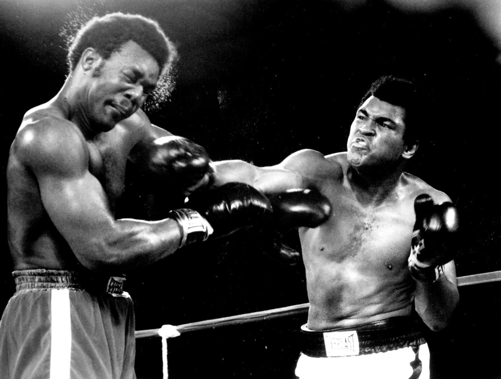 . Muhammad Ali\'s eighth-round knockout victory over George Foreman will be shown on home television for the first time. 1974