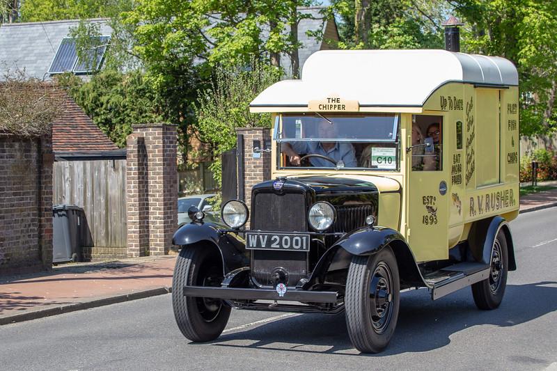 WV2001 1932 Bedford WS