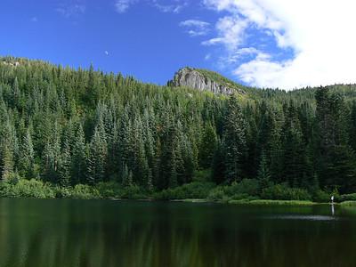 Wind Lake via Tom Dick Harry Mtn