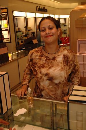 Channel Makeup @ Dillard's FL Mall 3-31-05