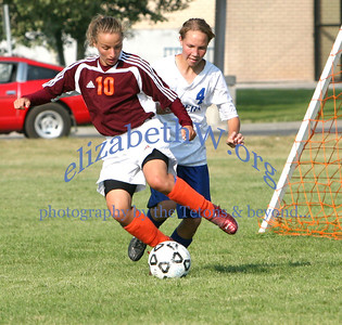 Teton Valley Girls Soccer #9 vs Sugar