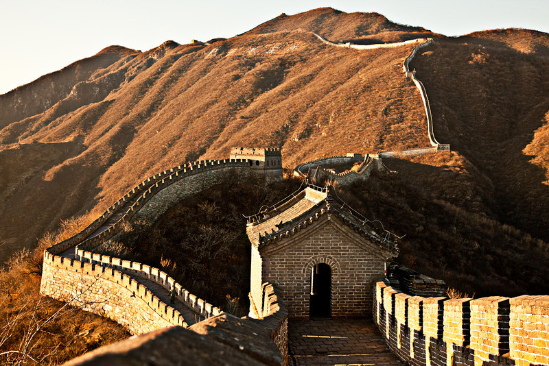 You can't leave China without a quick trip to the great wall.