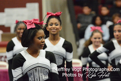 1-24-2015 Northwest HS at Panther Cheer Competition, Photos by Jeffrey Vogt Photography with Kyle Hall