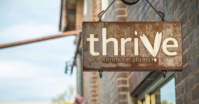 Thrive PR + Communications logo