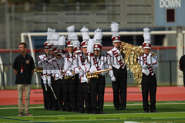 Ann Sobrato High School Marching Band & Colorguard
