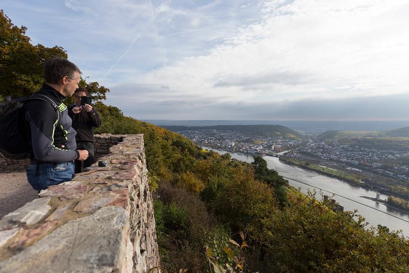 Rüdesheim, rheinsteig
