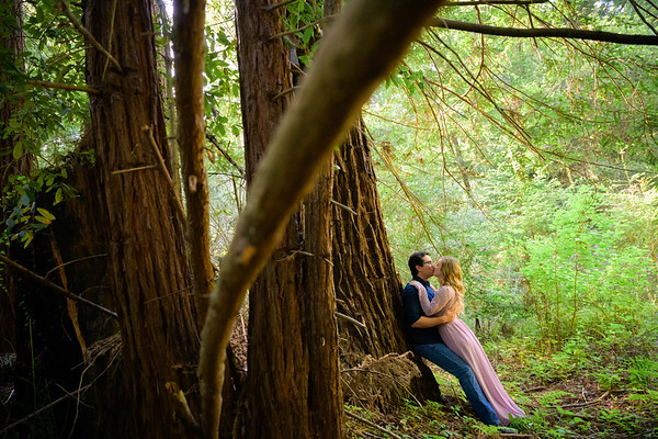 Meghan and Ben Engagement @ Nisene Marks, Aptos, CA
