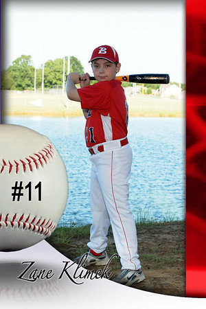Southaven Braves Individual and Team Pictures 2009