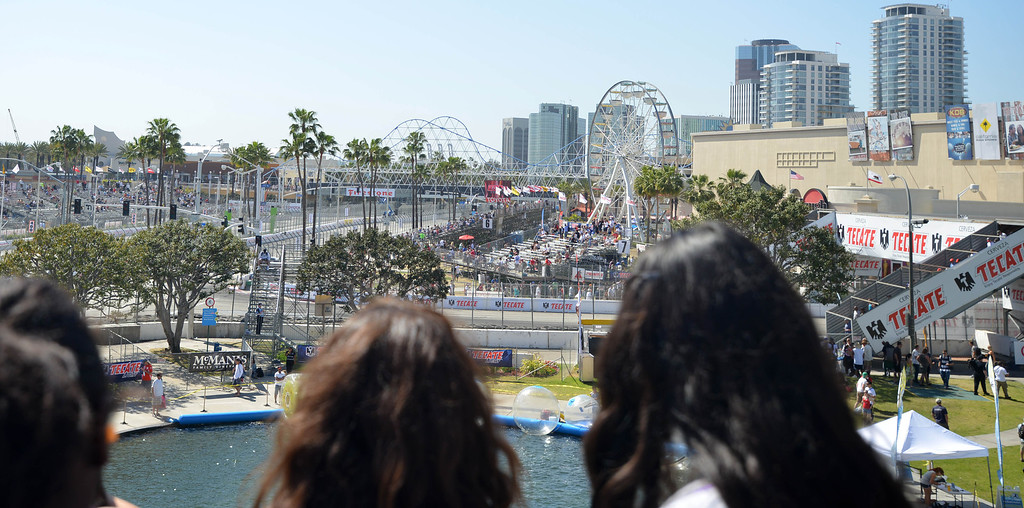 . 04-20-2013-(LANG Staff Photo by Sean Hiller)- Toyota Grand Prix Saturday in Long Beach.