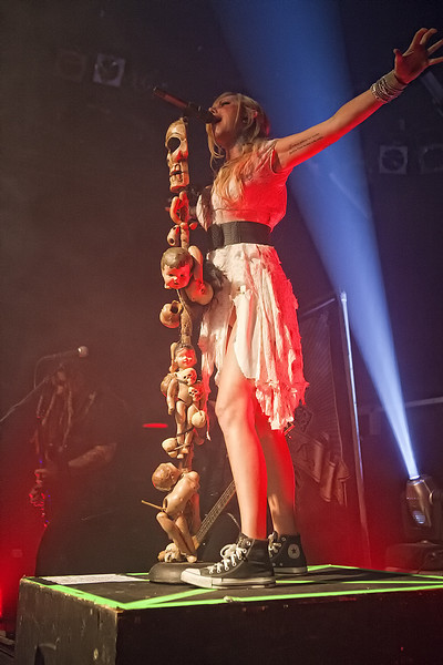 Maria Brink - In This Moment - Seattle WA 11-19-2010