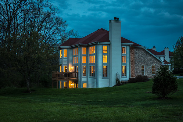 5-Blue Hour house lit up May 2020