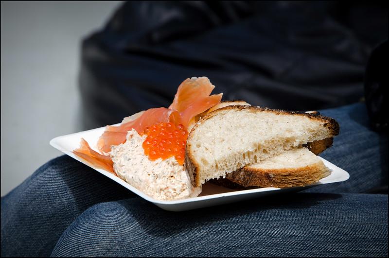 Huon Tasmania tasting plate