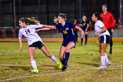 Girls Varsity Soccer vs Paso Robles