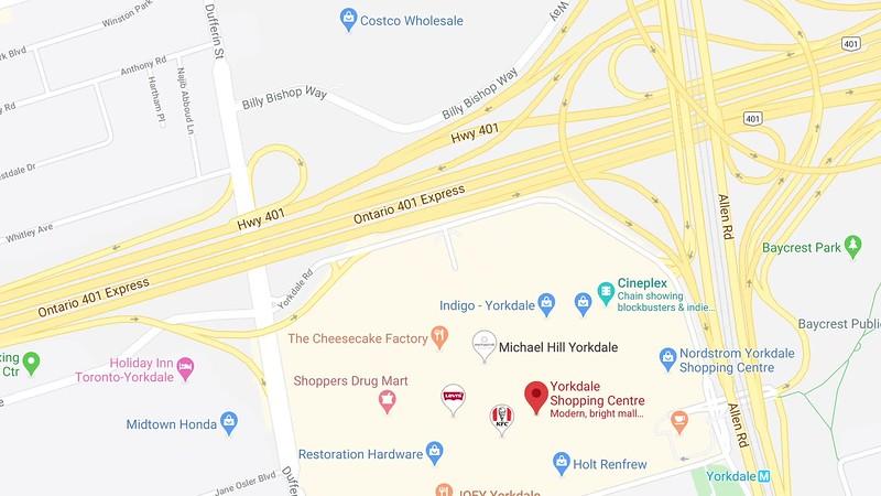 Yorkdale Google Map.mp4