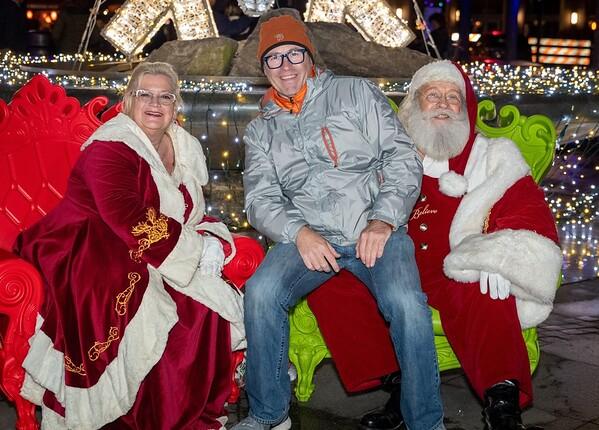 2019 Holiday Lights Portraits with Santa 6-7pm
