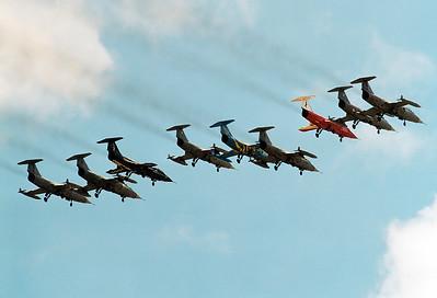 Pratica di Mare, Rome, Italy, May 2004 - Starfighter Farewell