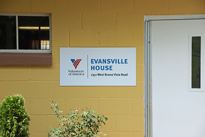 VOA Evansville House ribbon cutting