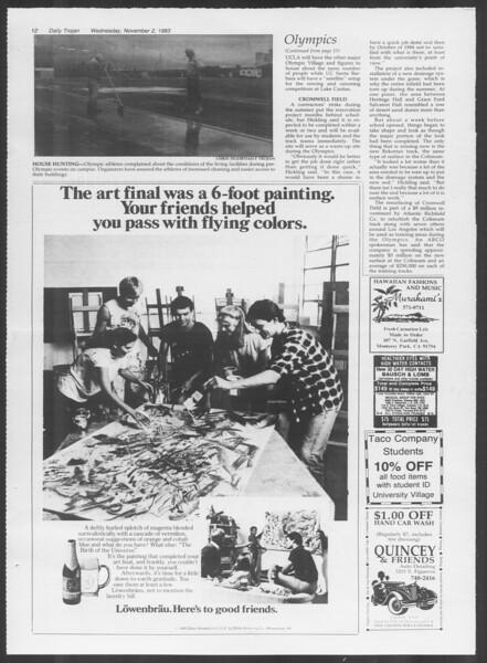 Daily Trojan, Vol. 94, No. 41, November 02, 1983