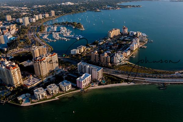 Above Sarasota