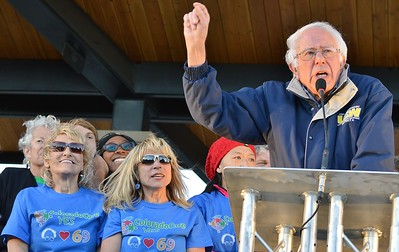 ColoradoCare Rally with Sen. Bernie Sanders-Boulder 10/17/16