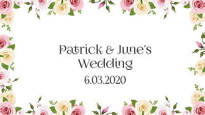 06.03 #Patrick&June'sWedding
